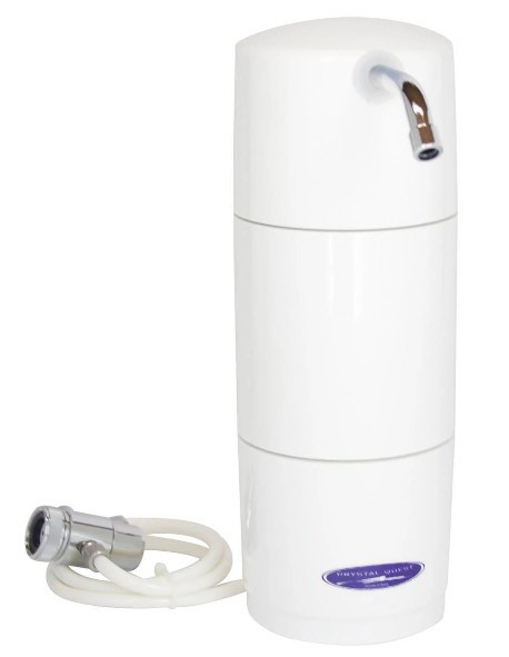 Crystal Quest Countertop Water Filters - 10,000, 20,000 and 30,000 gallons of water filtration