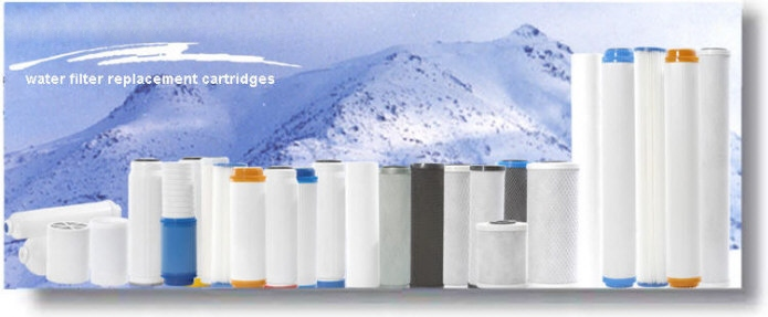 Replacement Water Filter Cartridges - Home water filter replacement cartridges & water filter replacements