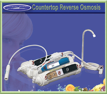 Crystal Quest Countertop Reverse Osmosis Water Filter
