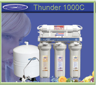 Crystal Quest Thunder 1000C Reverse Osmosis Water Filter