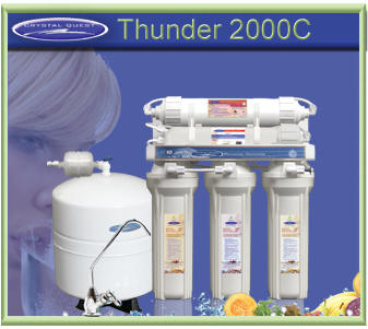 Crystal Quest Thunder 2000C Reverse Osmosis Water Filter