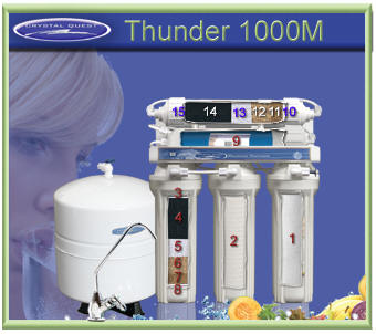 CQ Thunder 1000M RO Water Filtering System