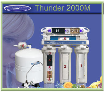 CQ Thunder 2000M Reverse Osmosis RO Water Filtering System