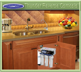 Crystal Quest under counter and above counter RO / Reverse Osmosis water filters