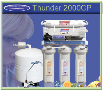 CRYSTAL QUEST Thunder 2000CP Reverse Osmosis/Ultrafiltration with Pressure pump