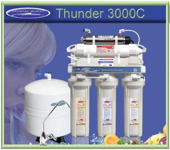 CRYSTAL QUEST Thunder 3000C Reverse Osmosis / Ultrafiltration Water Treatment System