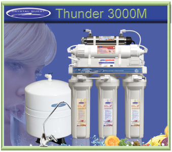 CRYSTAL QUEST Thunder 3000M Reverse Osmosis / Ultrafiltration