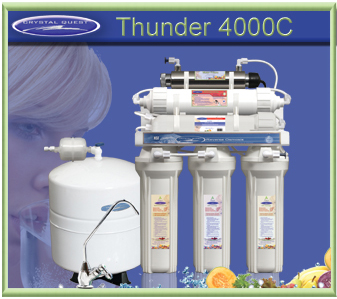 CRYSTAL QUEST Thunder 4000C Reverse Osmosis / Ultrafiltration