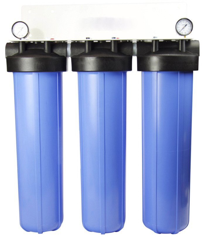 Crystal Quest SMART Triple Whole House water filter system