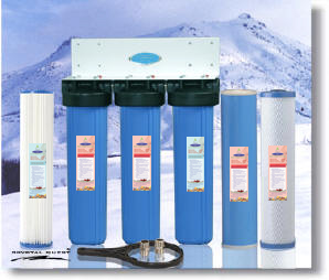 Crystal Quest Whole House Water Filter systems - Easy use cartridge style whole house water treatment systems