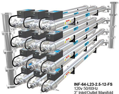 Infinity UV Liquid Disinfection System Units
