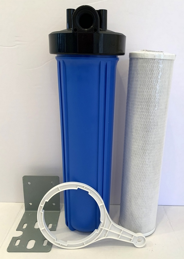 Purest Filters Single 20x5 Whole House Water Filter System