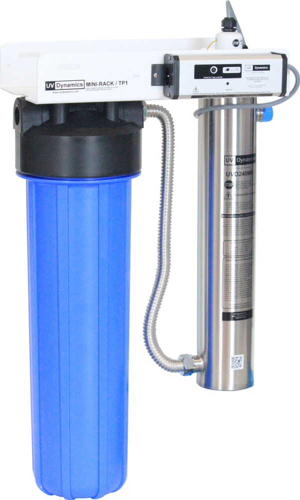 UV Dynamics Mini Rack Ultraviolet water filtering system
