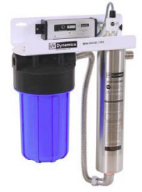 UV Dynamics Ultraviolet Water Disinfection and Water Filter Combination Systems