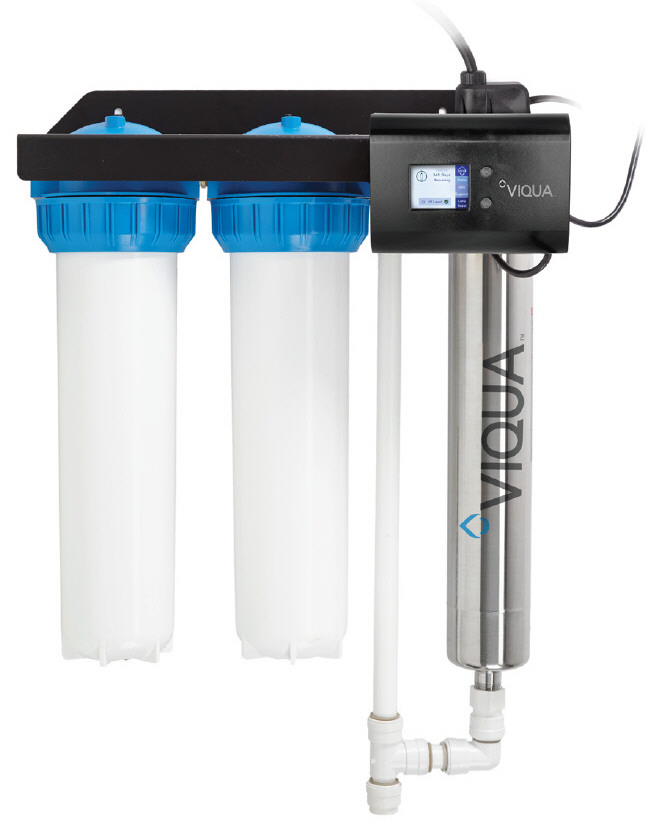 VIQUA IHS22-E4 Dual Prefilters with UV Disinfection System
